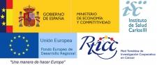 Ministerio de Economía y Competitividad + Unión Europea (RTICC)