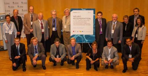 B·Debate brought together more than 60 experts in neuroregeneration at CosmoCaixa - Photo: © Biocat, Jordi Cabanas.