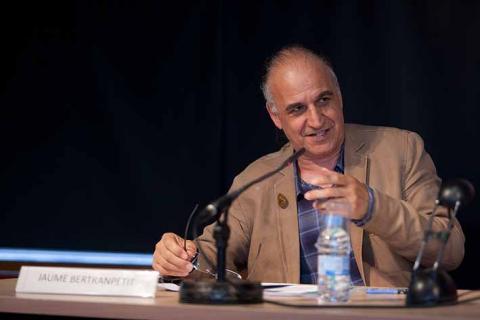 Jaume Bertranpetit al cicle de debats que van fer B·Debate i el CCCB el 2011 - Foto: © CCCB.